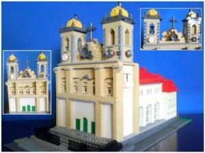 Igreja do Bonfim - 1º lugar - 1000 reais em lego