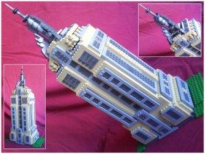 Empire State - 3º lugar - 300 reais em lego